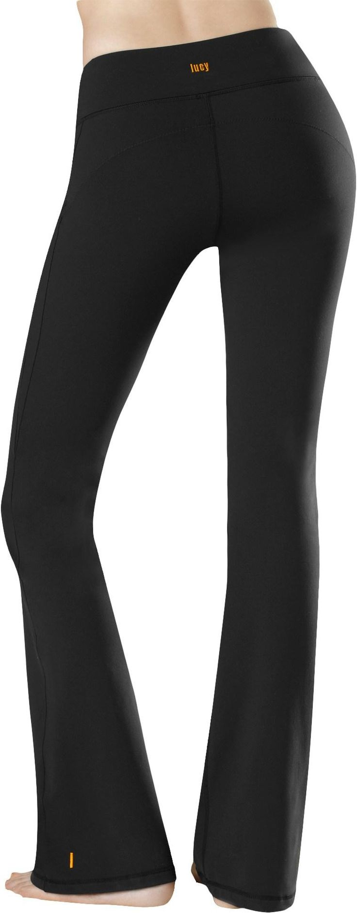 The Lucy Perfect Core Capris Help Hide and Battle the jiggle while working out. They've got just the right amount of compression for your workout, without feeling like you're trying to Down Dog in Spanx. Also has anti-chafe seams and moisture-wicking capabilities,