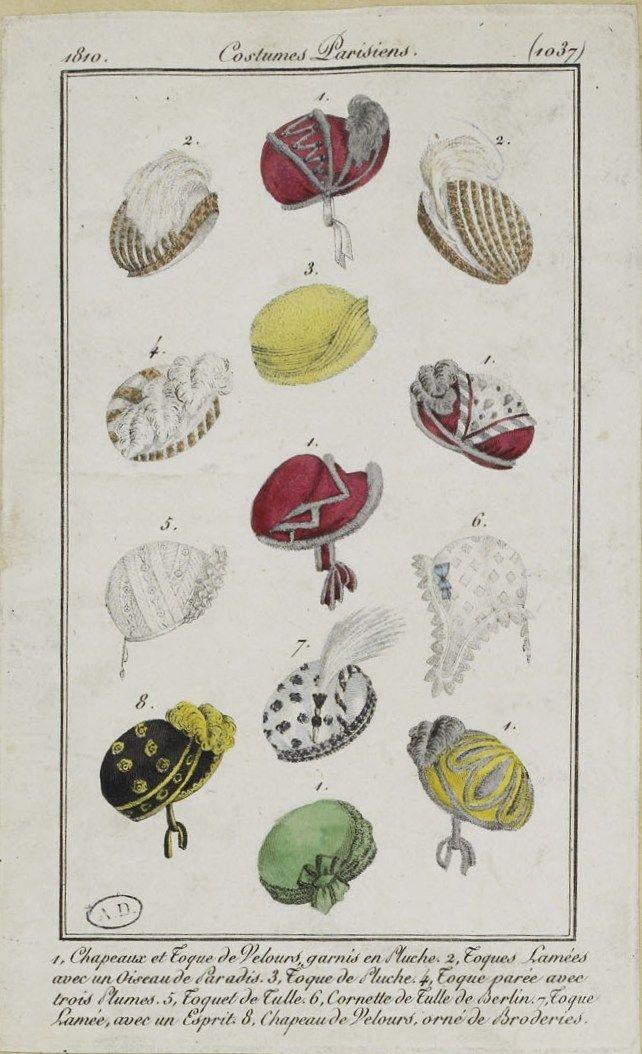 Costume Parisien (1037), 1810.