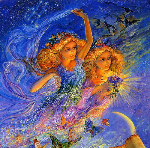 003-Geminis-Calendario 2009-Josephine Wall-via www.dana-mad.ru