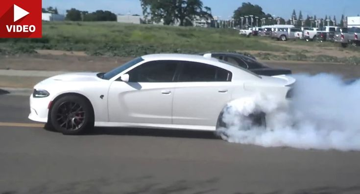 Enthusiastic New Charger Hellcat Owner Leaves Dodge Dealership ...