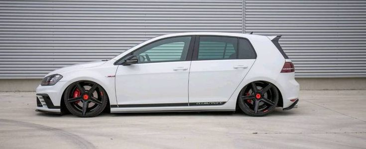 vw golf7 gti clubsport airride luftfahrwerk mbdesign. Black Bedroom Furniture Sets. Home Design Ideas