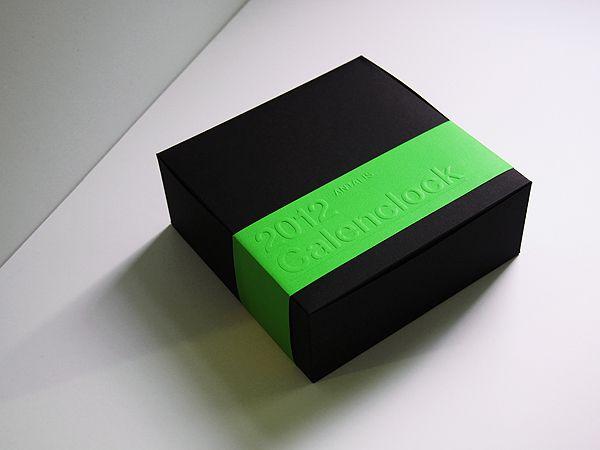 2012, Antalis, Calenclock, calendar, Clock, emboss, Graphic Design, Hot Stamping, modern, Print Design, Product Design, simple, UV, White