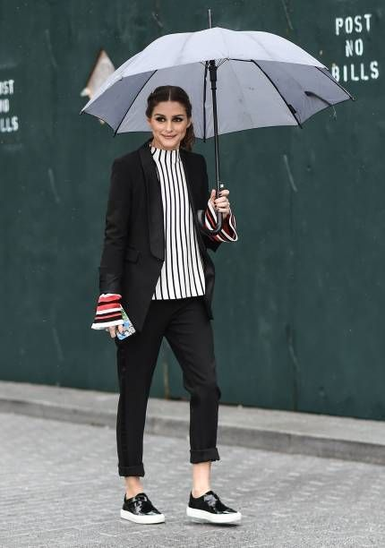 Olivia Palermo is seen outside the Tibi show during New York Fashion Week Women's A/W 2018 on February 11 2018 in New York City #womensfashion