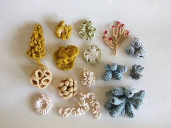 Esmeralda Cabrera – Crochet sea creatures inspired by hyperbolic crochet