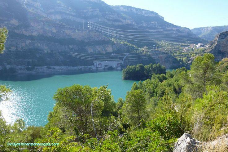 Cortes de Pallás y la Central Hidroeléctrica