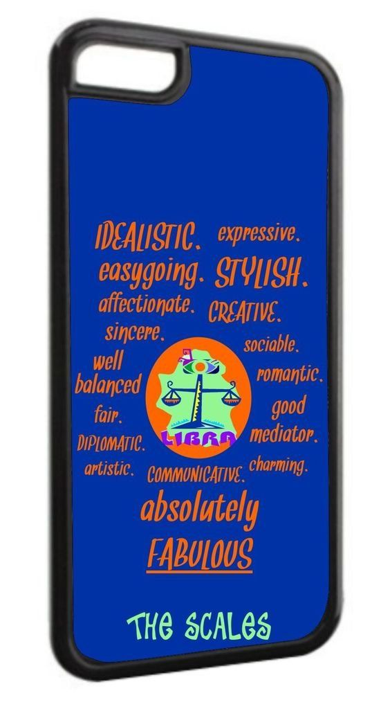 Zodiac Libra Traits Black Plastic Apple iPhone 7 Plus (7+) Case Made in the U.S.A. High Quality Black Plastic Case compatible with the Apple iPhone 7 PLUS, (7+) (Not Compatible with the standard iPhone 7). Permanent Quality Vibrant Flat-Printed Image. No Textured or 3D Print. Quick Processing and Shipping! Ships from the U.S.A. High Level of Customer Service. Satisfaction Guaranteed or Replacement or Refund. Jack's Outlet Inc. is the Brand Owner and Manufacturer of this item. At Jack's...