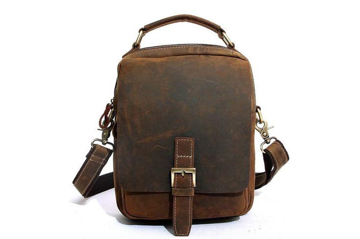 Just launched! Handmade Top Grain Brown Real Leather Messenger Bag Laptop Bag  Men /Women Business Briefcase, Shoulder Bag, Men Handbag, Women Handbag https://www.etsy.com/listing/467806945/handmade-top-grain-brown-real-leather?utm_campaign=crowdfire&utm_content=crowdfire&utm_medium=social&utm_source=pinterest