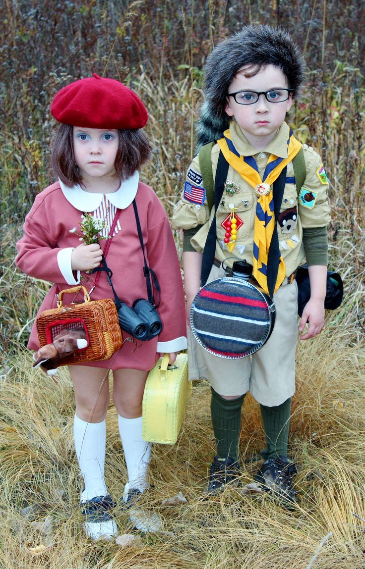 #Sam&Suzy#MoonriseKingdom #kidsincostumes