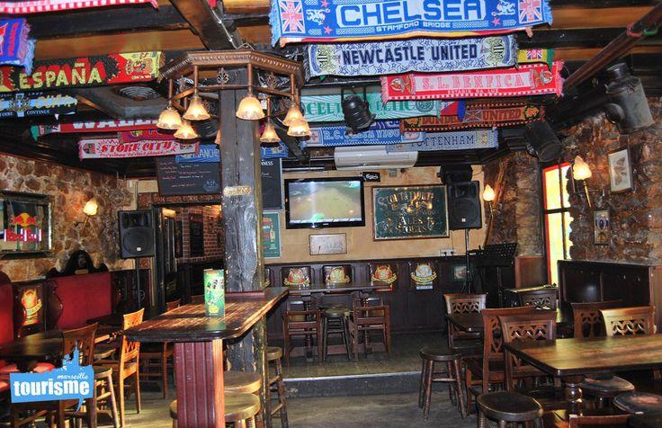 #Sortie à #Maseille : #Pub idéal pour boire un coup les soirs de #match ! Allez l'#OM #Vacances #Voyage