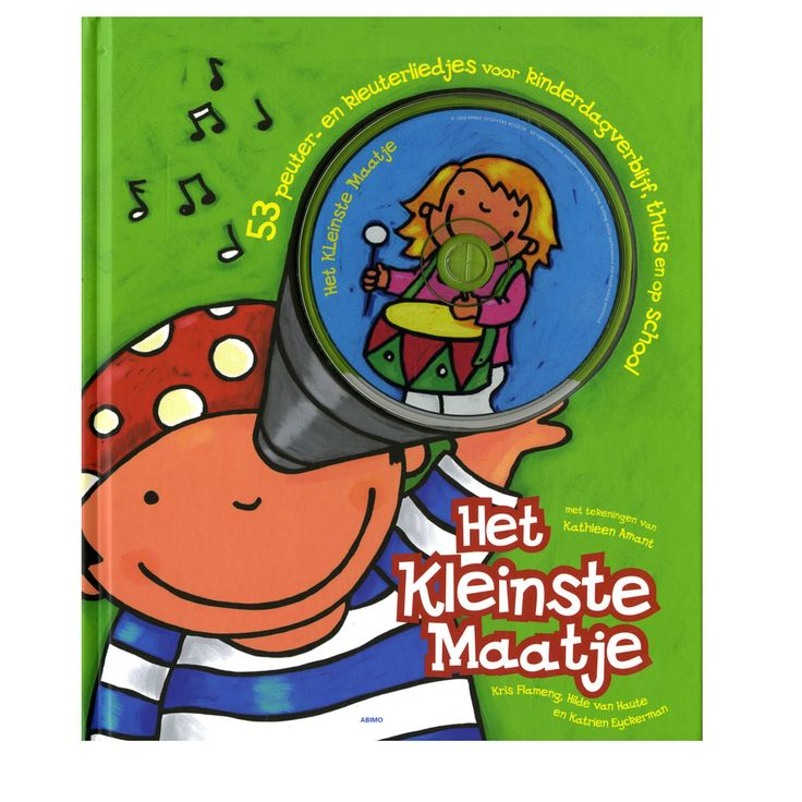 """De liedjes in """"Het kleinste maatje"""" (inclusief cd) gaan over herkenbare dingen die in de dagelijkse routine van kinderen voorkomen. Geschikt voor kindjes vanaf 4 jaar. Te vinden bij Sassefras Meisjes Speelgoed voor écht peuter en kleuter speelgoed."""