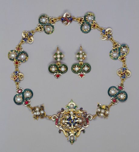 17 best ideas about his and hers necklaces on pinterest for Mary queen of scots replica jewelry