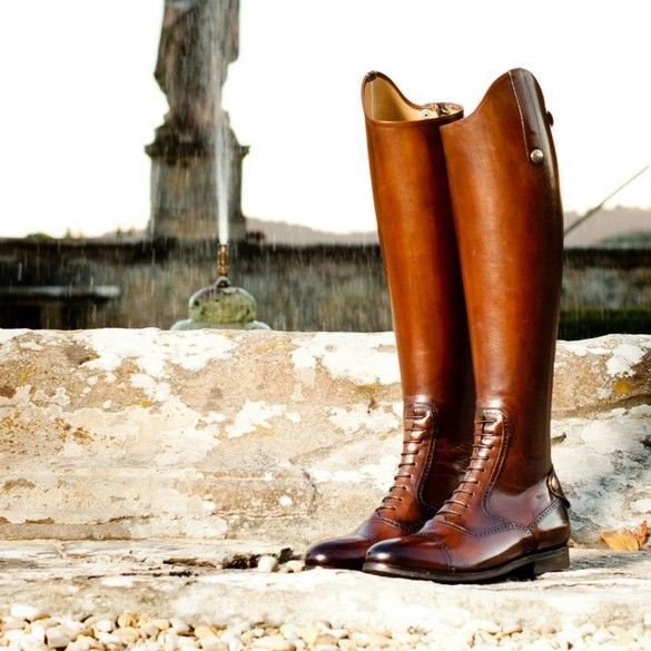 www.pegasebuzz.com/leblog | Equestrian Fashion with Alberto Fasciani : horse riding boots