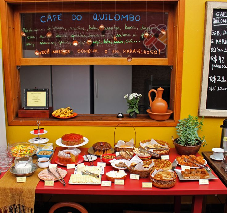 Café da manhã do Quitand'arte: sábados, domingos e feriados
