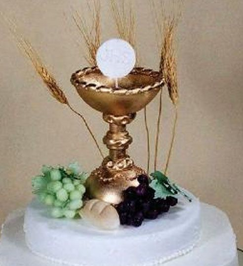 Chalice Cup Cake Topper