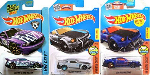 Hot Wheels 2016 Mustang Variant Track Star 2005 New Model Ford 2005 New Casting Digital Circuit  Custom 12 HW City Soccer Goal in PROTECTIVE CASES * Read more reviews of the product by visiting the link on the image.Note:It is affiliate link to Amazon.