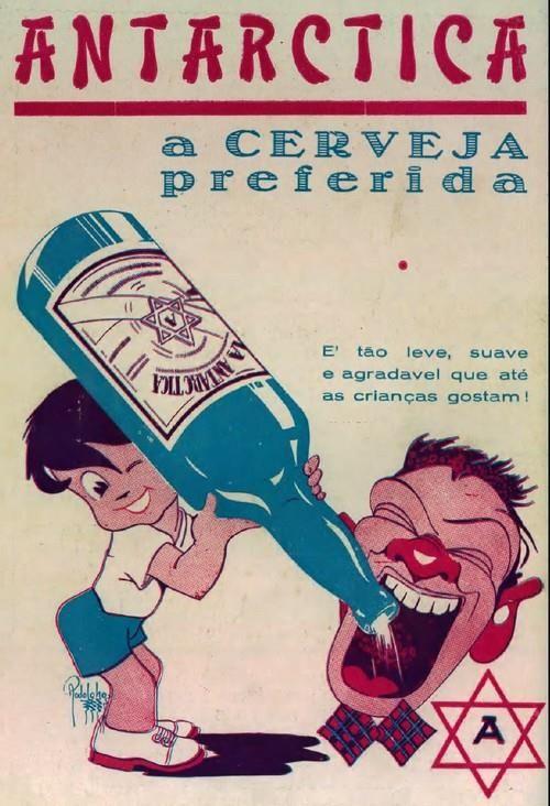 1940 Antarctica - Cerveja para crianças?!