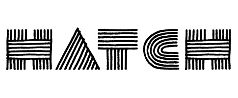 Hatch logo by Saskia Ericson.