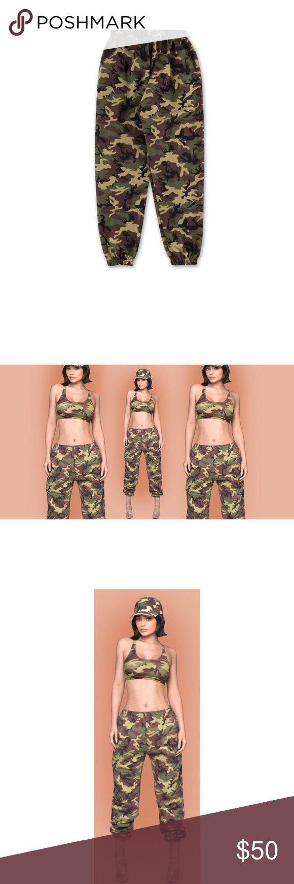 The Kylie Shop Oversized Camouflage Sweatpants Worn Once In Great Condition! Sold Out Online! Size Medium 100% Authentic  100% Cotton Made In The USA Please Review All Photos Prior To Purchase All Sales Are Final! Any Questions Please Ask! Thanks And Happy Shopping! the kylie shop Pants Track Pants & Joggers