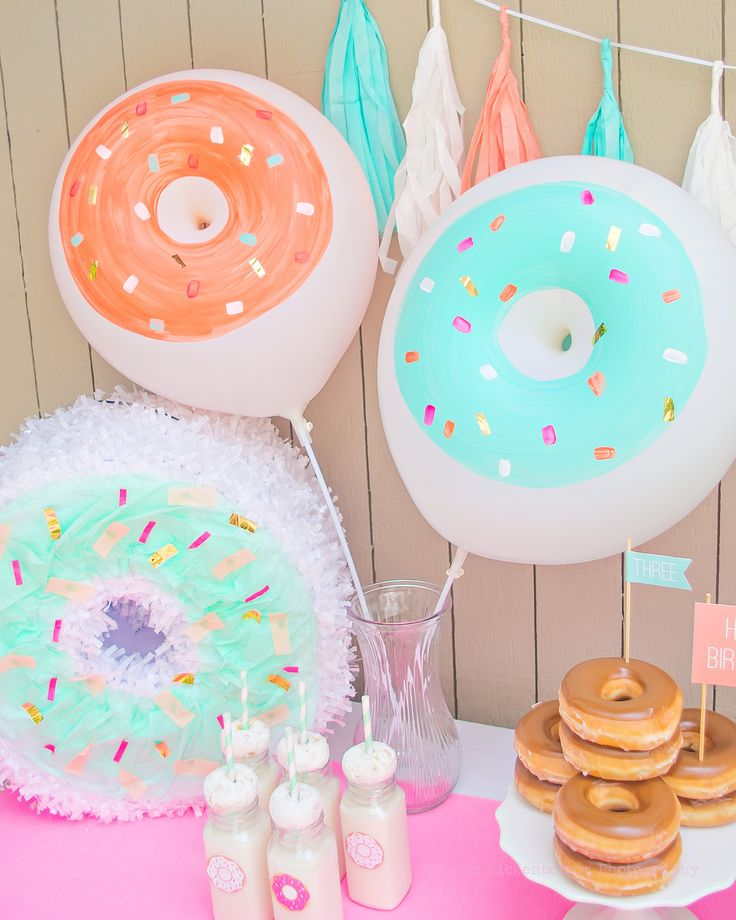 Donut Balloons