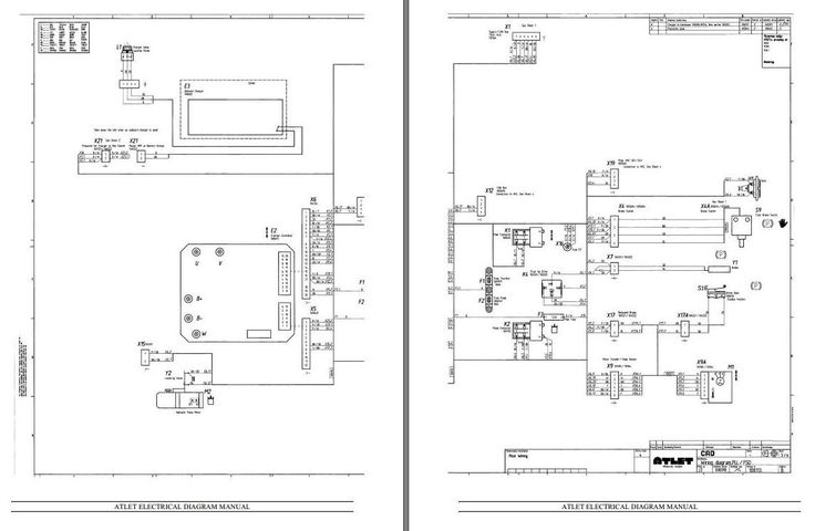 electric forklift reach truck diagram