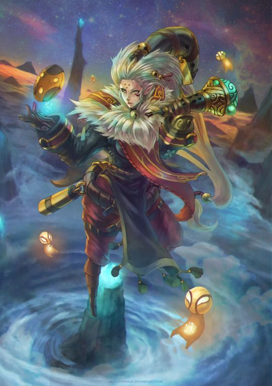 League. Bard. This is lovely.