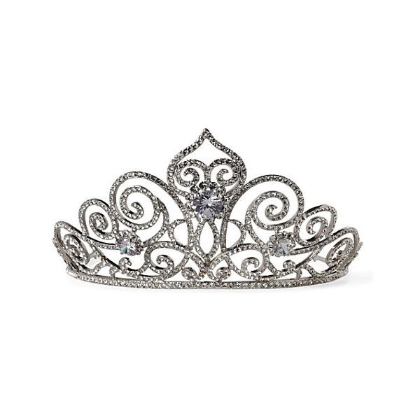Anna Swirl tiara BUTLER WILSON ($200) ❤ liked on Polyvore featuring accessories, hair accessories, tiaras, crowns, jewelry, crown tiara, tiara crown and jeweled hair accessories