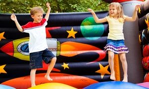 Groupon - 5 or 10 Open-Bounce Sessions or Birthday Party with Cake and Pizza for Up to 12 at BounceU (Up to 55% Off) in Multiple Locations. Groupon deal price: $18