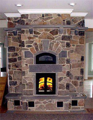 masonry heater by Amazin' Masons
