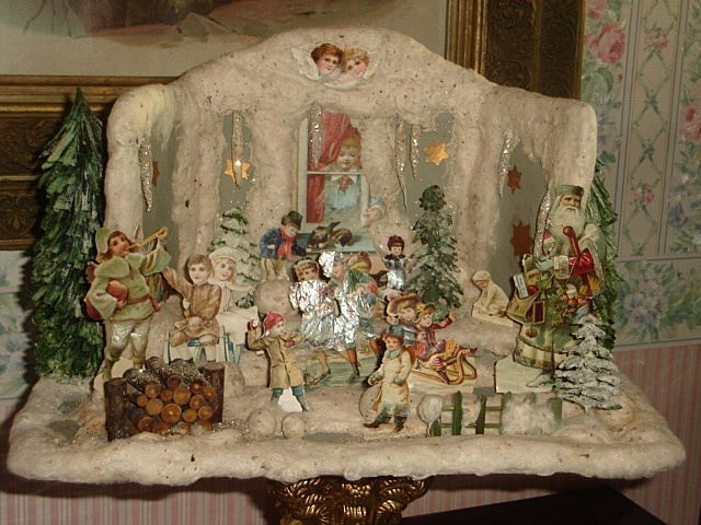 antique german christmas | German antique cotton