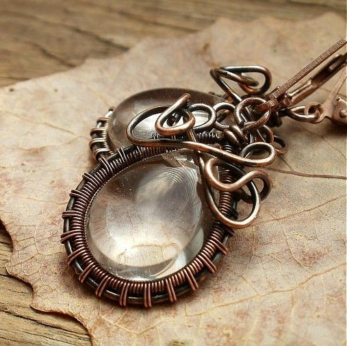 Katleya / In The Roots Of Tree: Wire Work, Wire Wraps, Wraps Jewelry, Wraps Wire