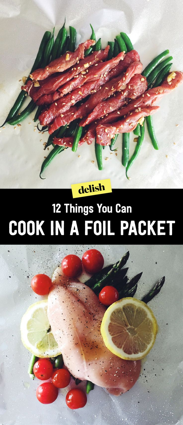 how to cook foil packets on the grill