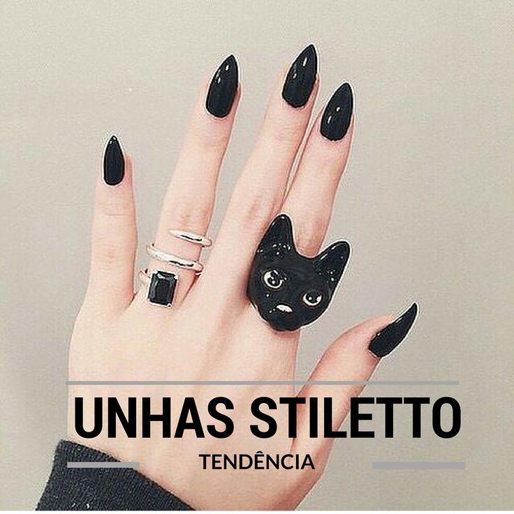 Beleza Sem Drama: TREND: Unhas Stiletto