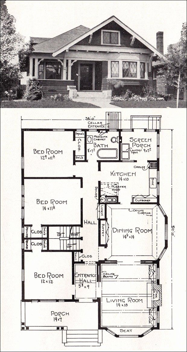 1920 Bungalow House Plans Best Of Craftsman Bungalow Home Plans Williesbrewn Design Ideas In 2020 Bungalow Floor Plans House Plan Gallery Craftsman House Plans