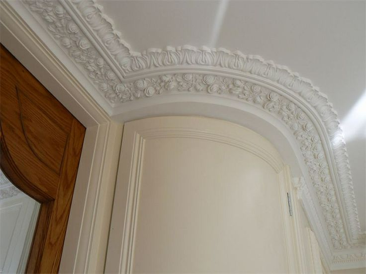 73 best white magic plaster of paris images on pinterest for Ceiling cornice ideas