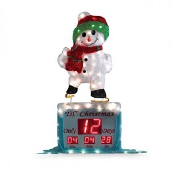 Christmas Countdown Clock Widget