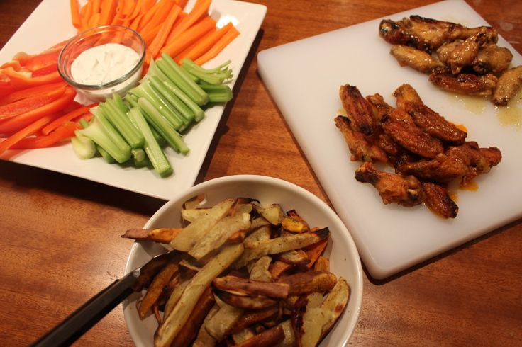 poulet, frites paléo