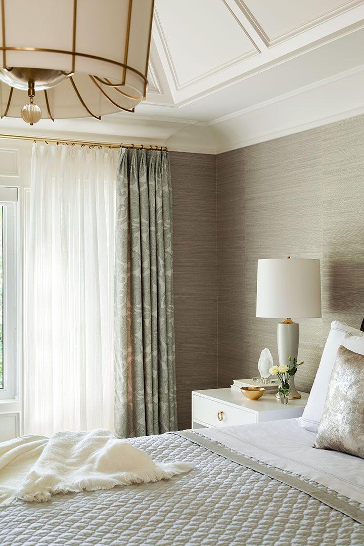 Elegant Master Bedroom Forest Hill Residence Jennifer Worts