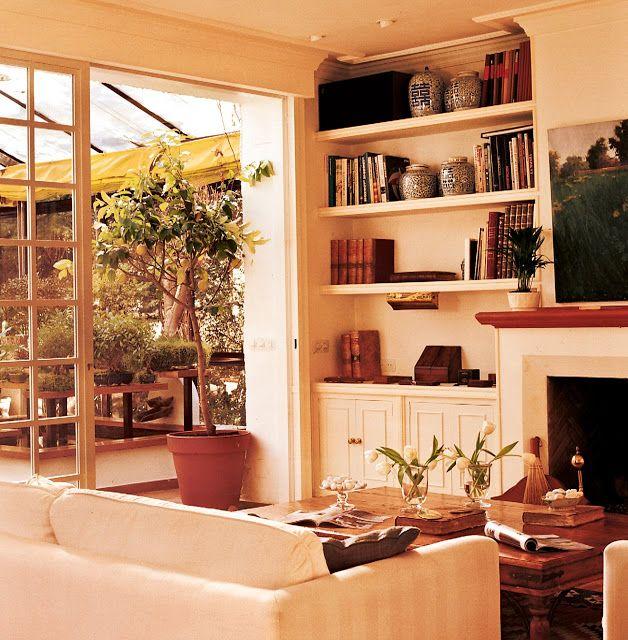 O charme das janelas e portas francesas