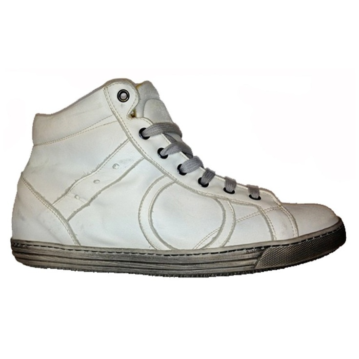 Sneaker alta bianco by Playhat $133