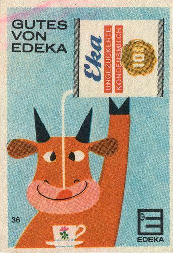 german matchbox label