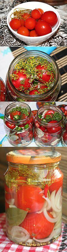 Сахарные помидоры « Пьяный повар