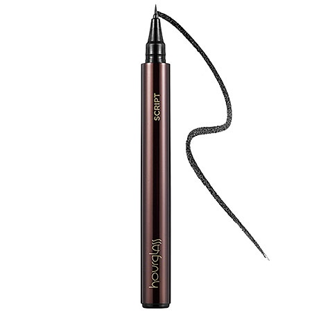 """1/15: """"This needle-nosed liner was inspired by the tiny tip of a Japanese pen. It's perfect for dotting along your lash lines for subtle definition. Or, add a  second skinny line for a cool double-vision effect."""" —Catherine S., Editorial Director #Sephora #DailyObsession"""