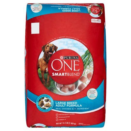 Purina ONE SmartBlend Large Breed Adult Formula Premium Dog Food Adult, 16.5 lb