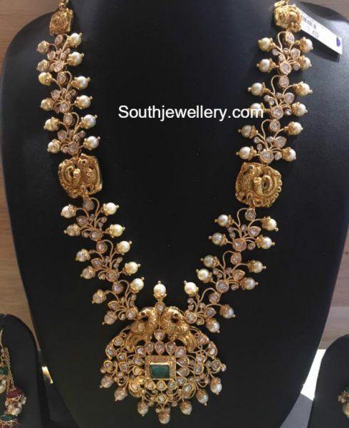 Uncut Diamond and South Sea Pearls Haram photo