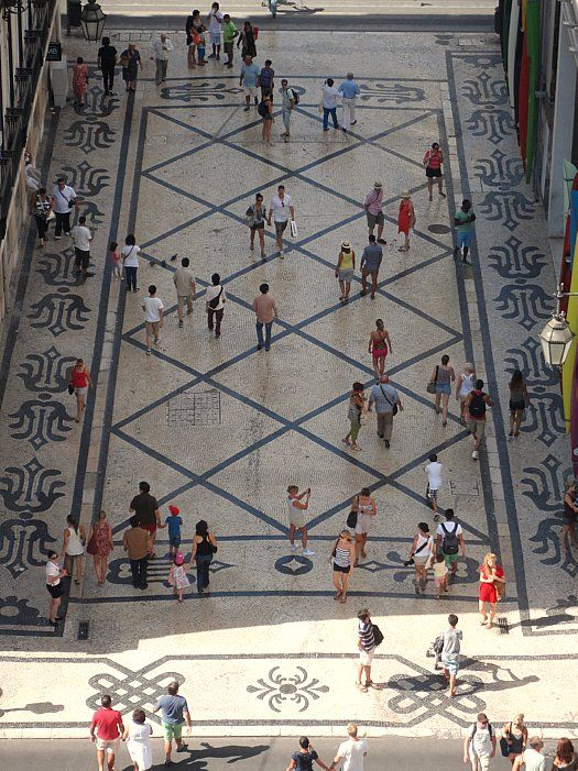 Augusta Street, Lisboa, Portugal