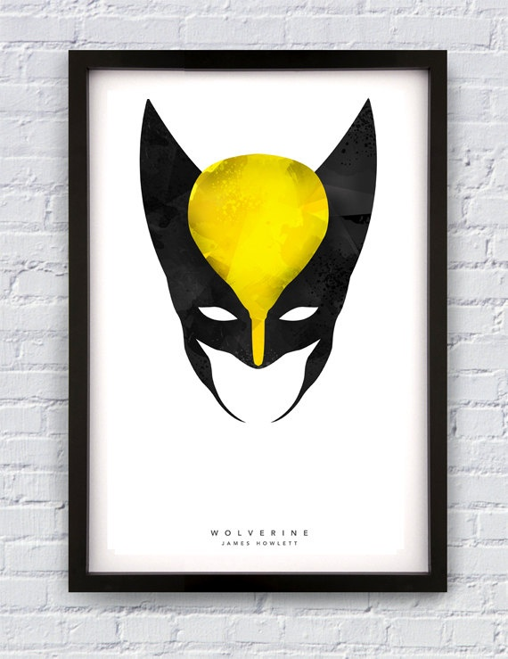 Wolverine Inspired Print