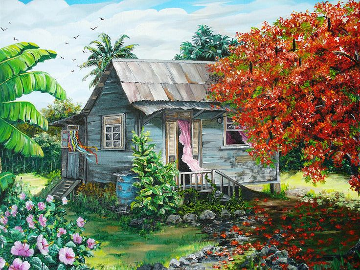Jamaican Oil Paintings For Sale