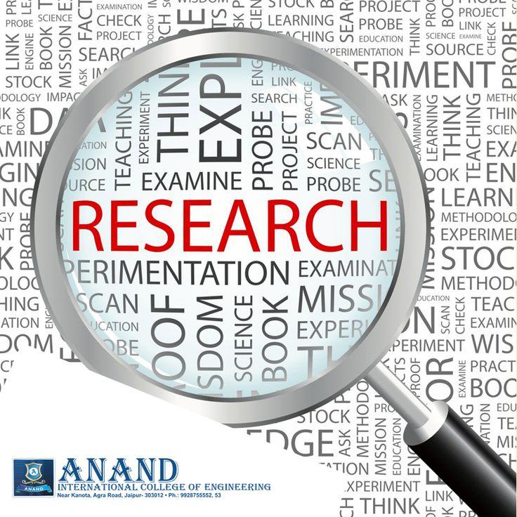 Research & Outreach  #Research #Anandice #Jaipur https://goo.gl/qr7WZL , https://goo.gl/7sBuhG