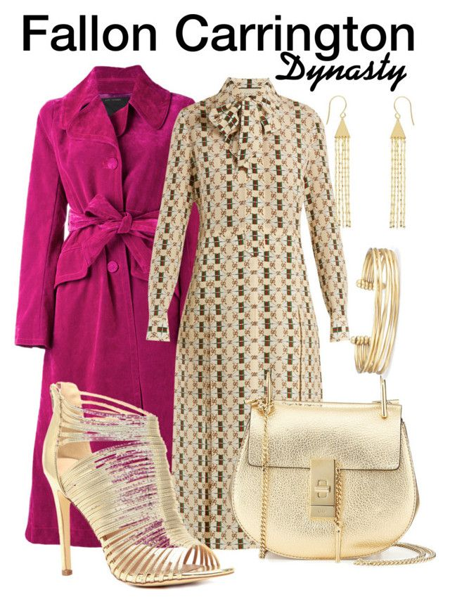 Dynasty by sparkle1277 on Polyvore featuring polyvore, fashion, style, Gucci, Marc Jacobs, Chloé, Stella & Dot, Allurez and clothing