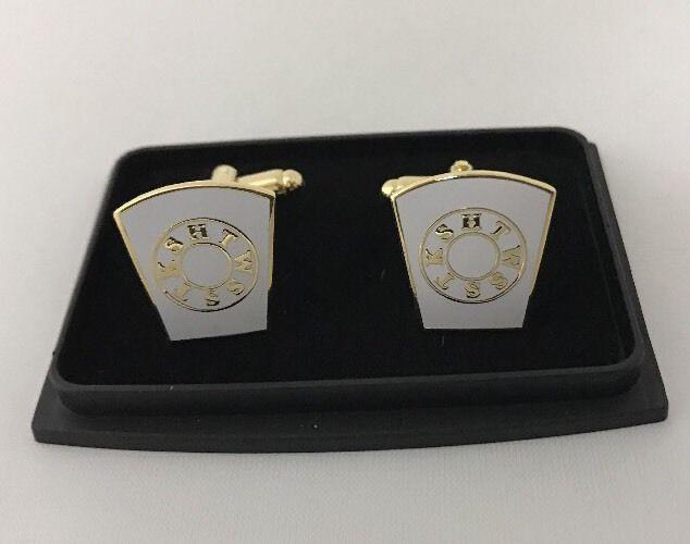 Freemason Masonic Royal Arch Mason Cufflinks In